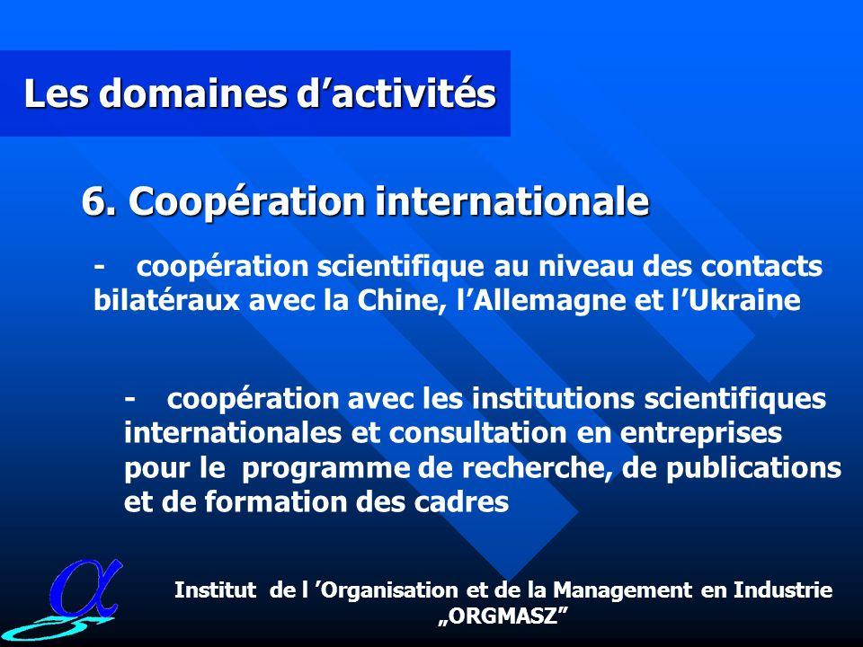 """Institut de l 'Organisation et de la Management en Industrie """"ORGMASZ"""
