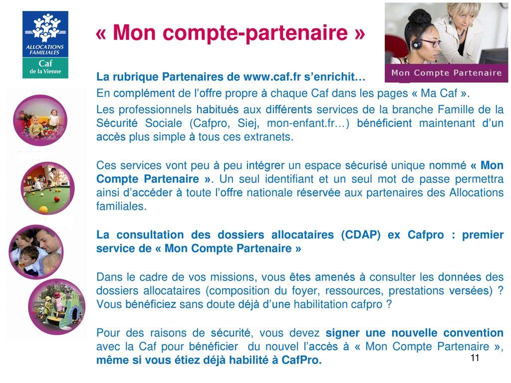 Acces Caf Mon Compte Partenaire