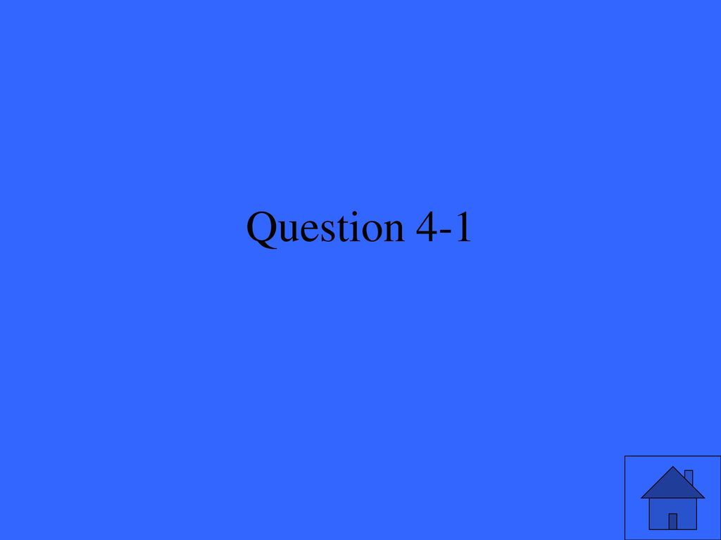 Question 4-1