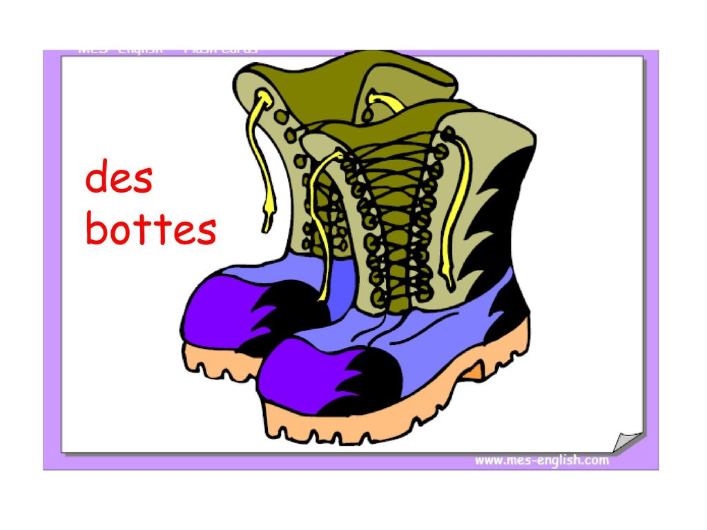 Discutez en anglais do you already know any clothing for Porte french to english
