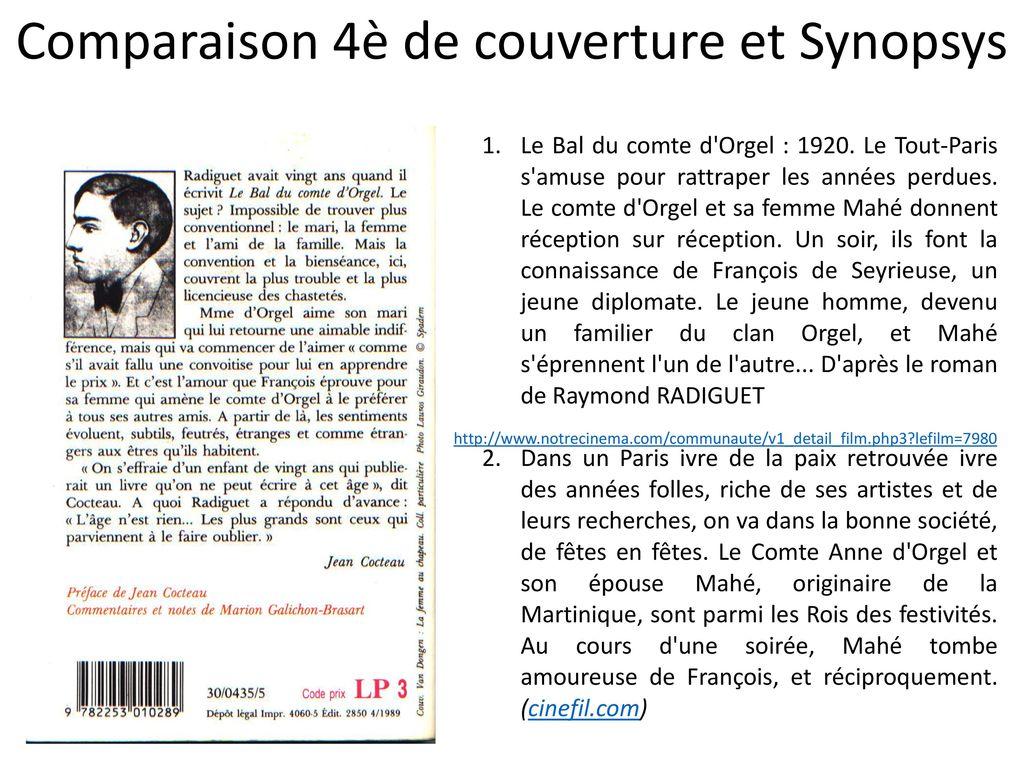 Raymond radiguet le bal du comte d orgel ppt t l charger - Femme et homme font l amour dans le lit ...