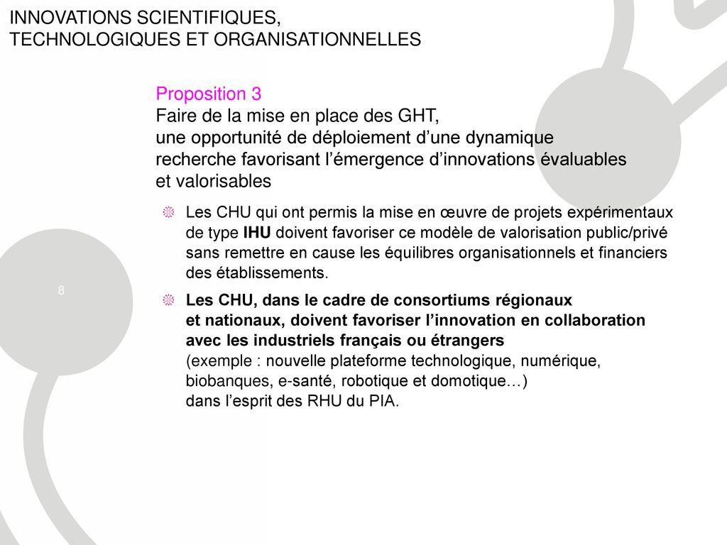 La marque innovation recherche hospitali re ppt - Nouvelle grille indiciaire cadre de sante ...
