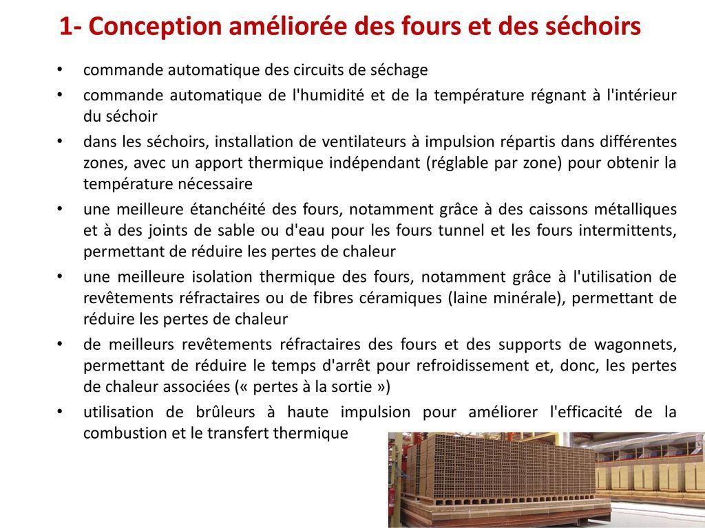 industrie c ramique bref 39 s efficacit nerg tique ppt video online t l charger. Black Bedroom Furniture Sets. Home Design Ideas