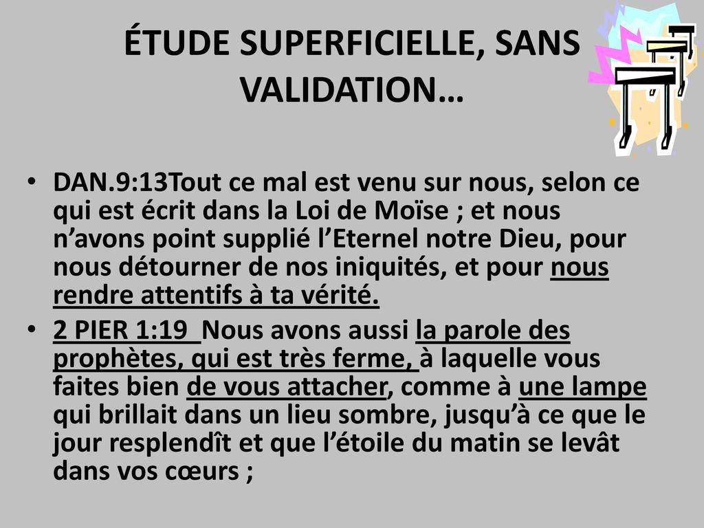 Tudes sur les proph ties bibliques ppt video online for Dans nos coeurs 53