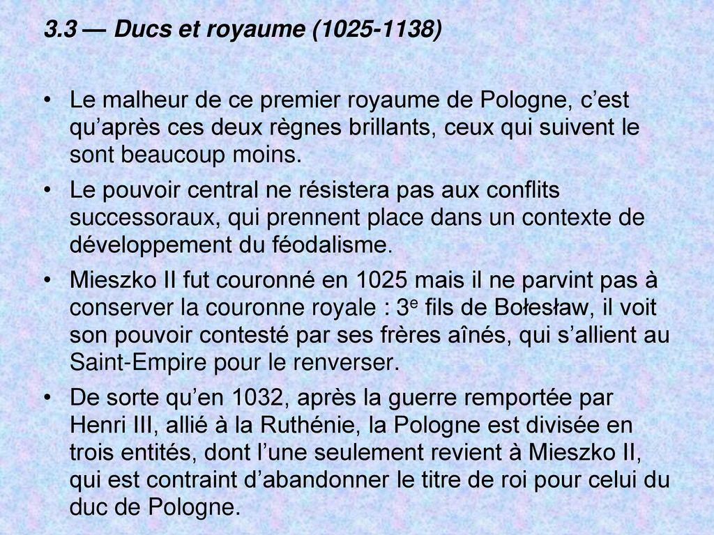 Histoire de la pologne des origines nos jours ppt t l charger - Jeux qui ne prennent pas beaucoup de place ...