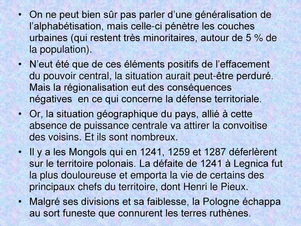 Histoire de la pologne des origines nos jours ppt - Peut on couper des branches du voisin ...