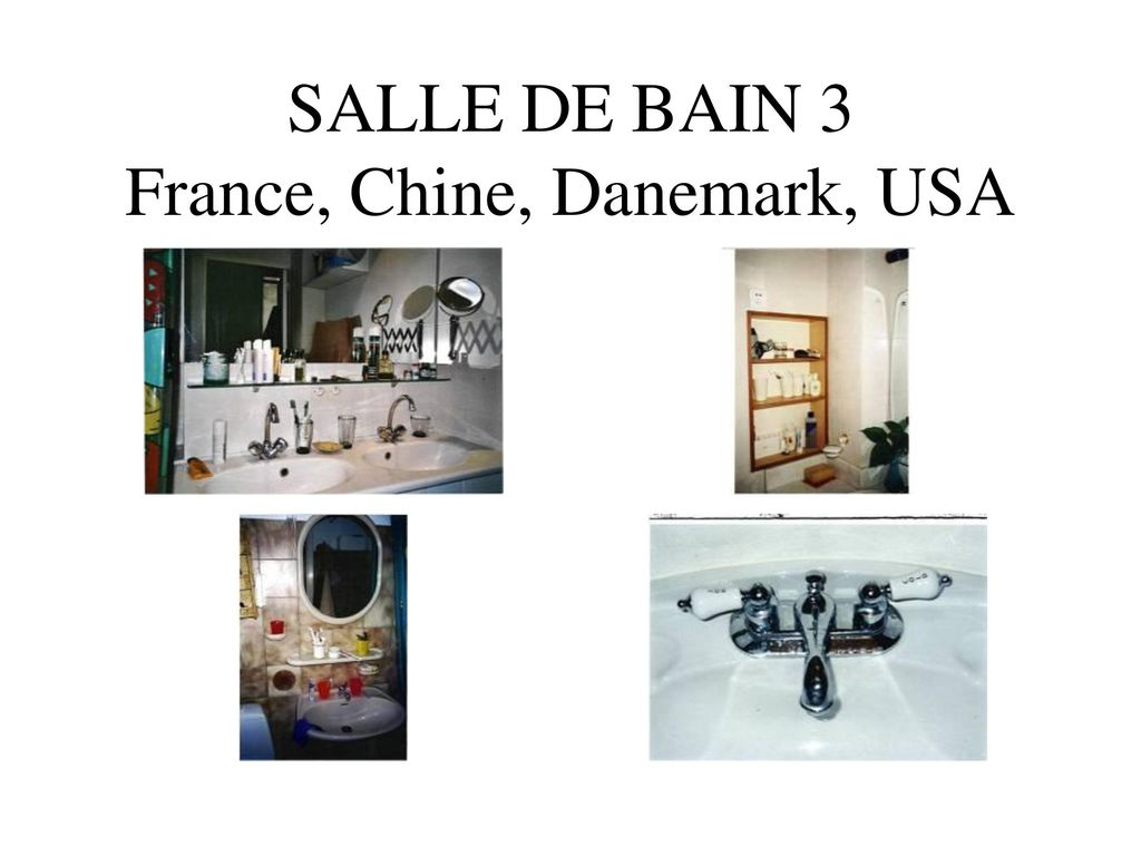 Visiting professor guangzhou chine et usf tampa fl for Salle de bain france