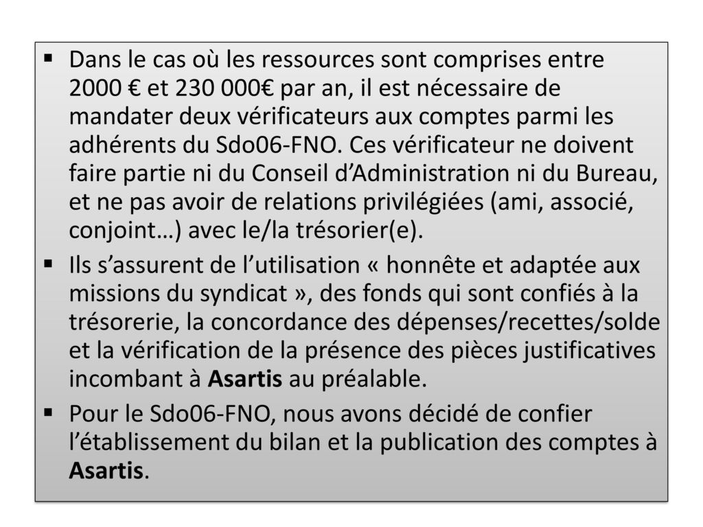 Sdo06 comptabilit ppt t l charger - Difference entre conseil d administration et bureau ...