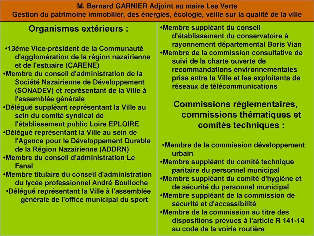 Propositions pour la mise en place d une politique de - Difference entre conseil d administration et bureau ...