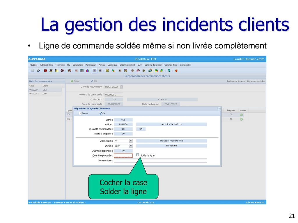 La gestion des incidents clients