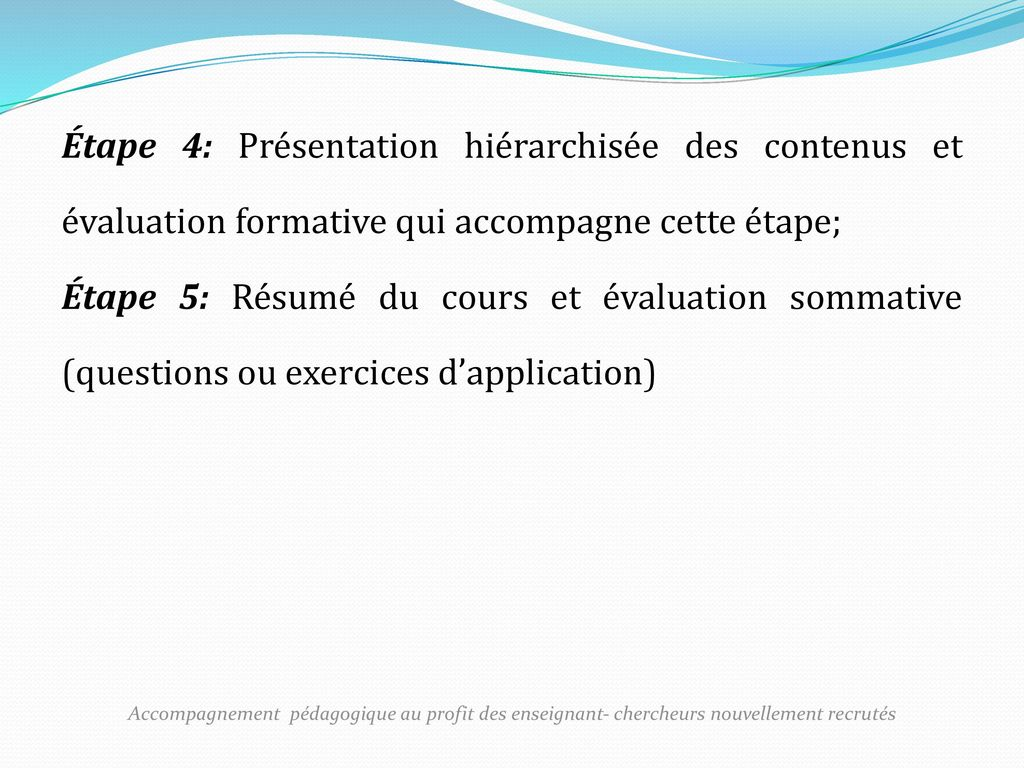 objectifs p u00e9dagogiques et structuration des contenus d