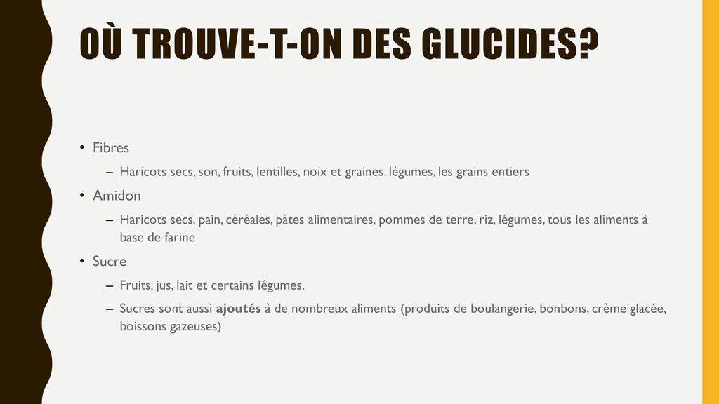 Les glucides ppt t l charger - Quels sont les aliments pauvres en glucides ...