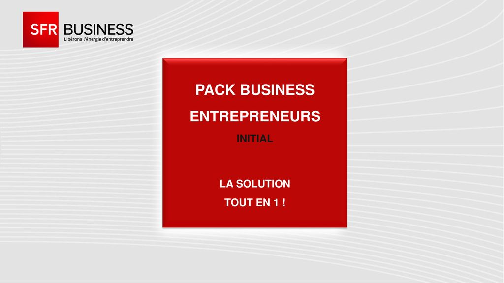 Pack business Entrepreneurs INITIAL la solution tout en 1 !