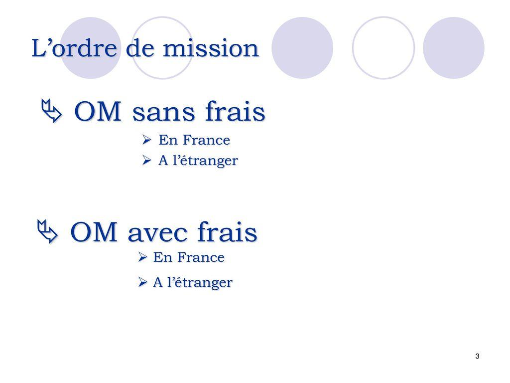 mission rémunérée étranger