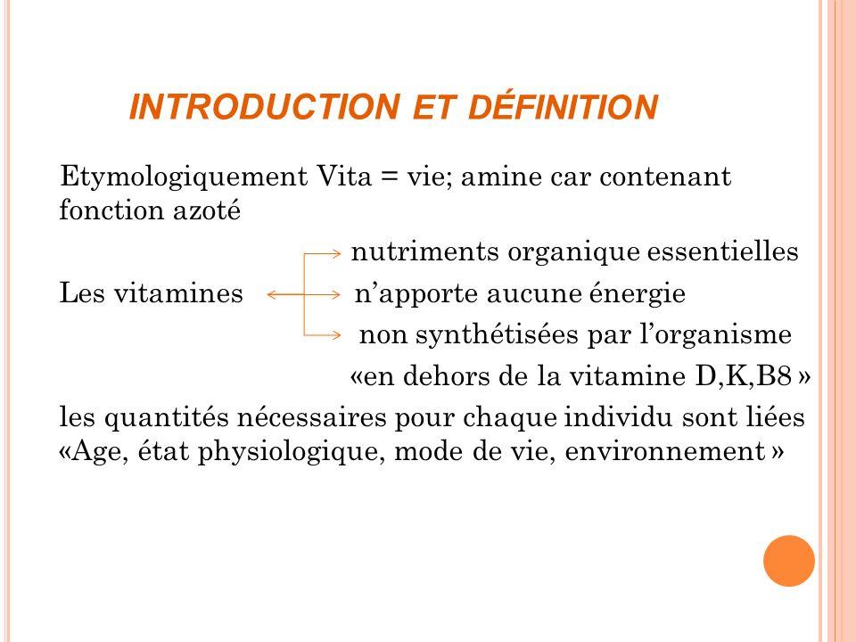 INTRODUCTION et définition