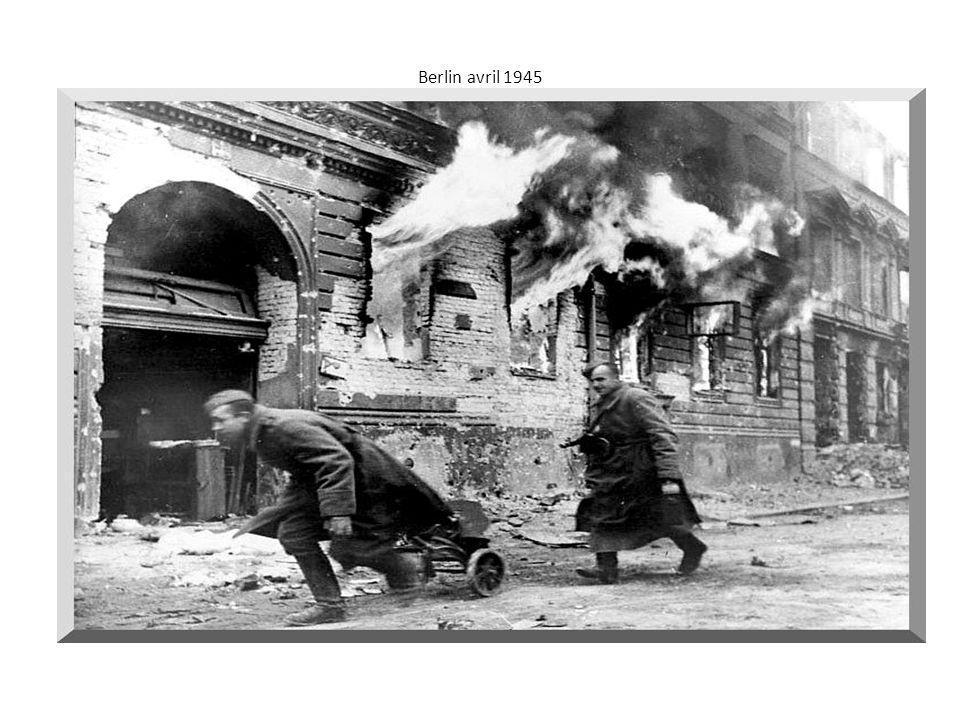 Berlin avril 1945