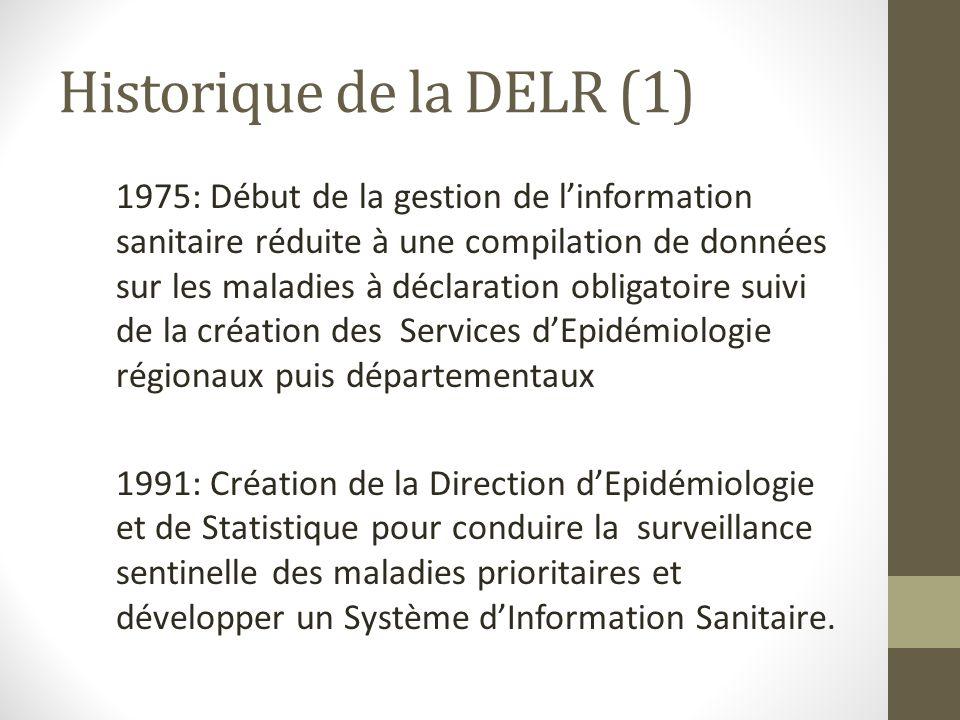 Historique de la DELR (1)