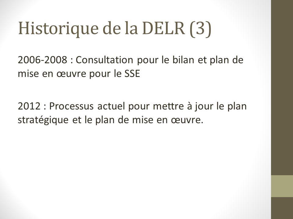 Historique de la DELR (3)