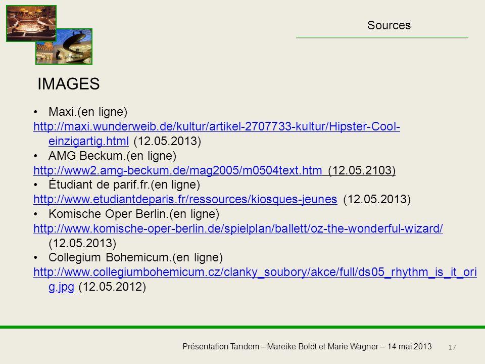 IMAGES Sources Maxi.(en ligne)