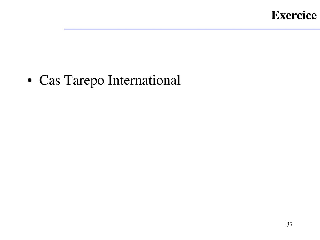 Cas Tarepo International