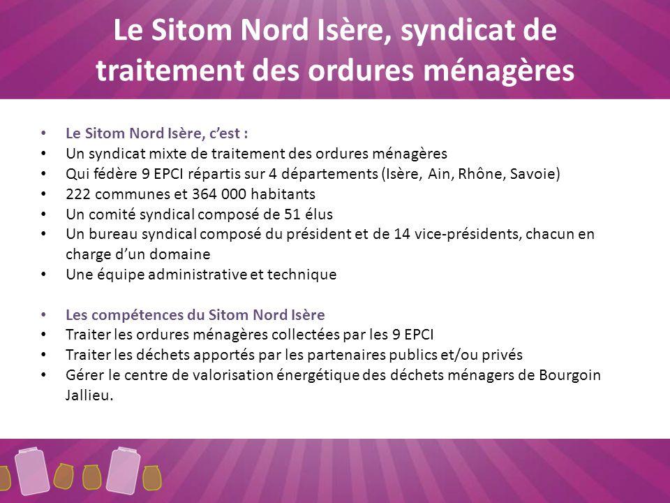 Le Sitom Nord Isère, syndicat de traitement des ordures ménagères