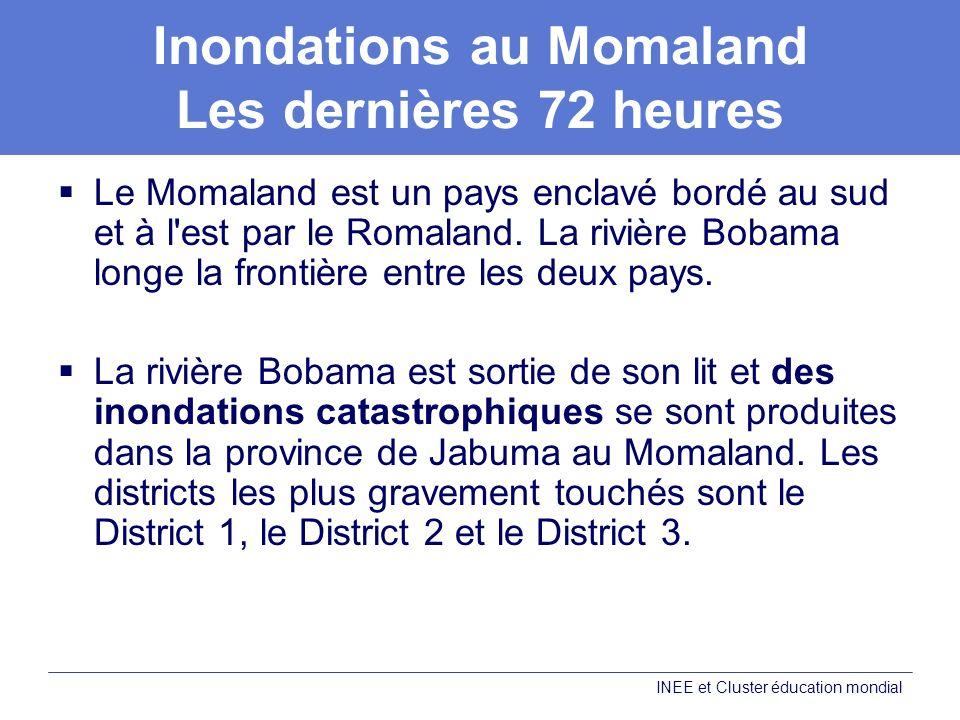 Inondations au Momaland Les dernières 72 heures