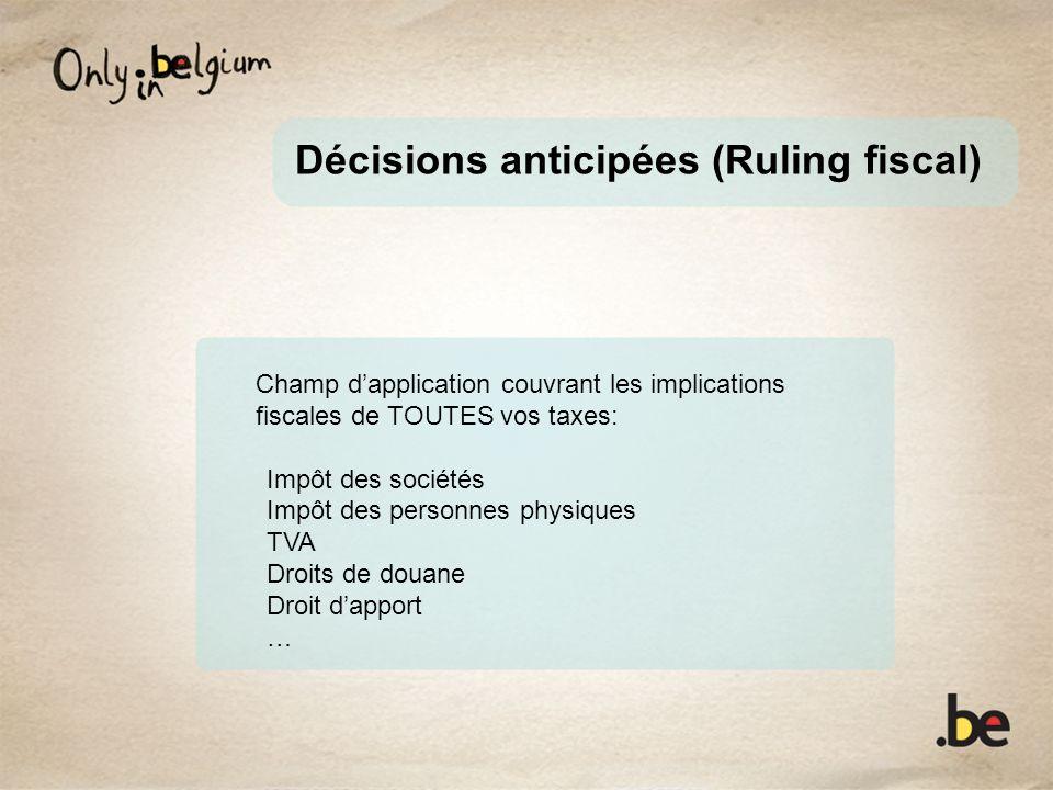 Décisions anticipées (Ruling fiscal)