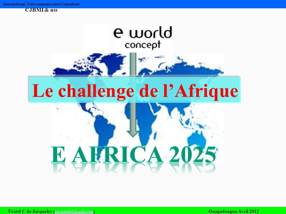 Le challenge de l'Afrique