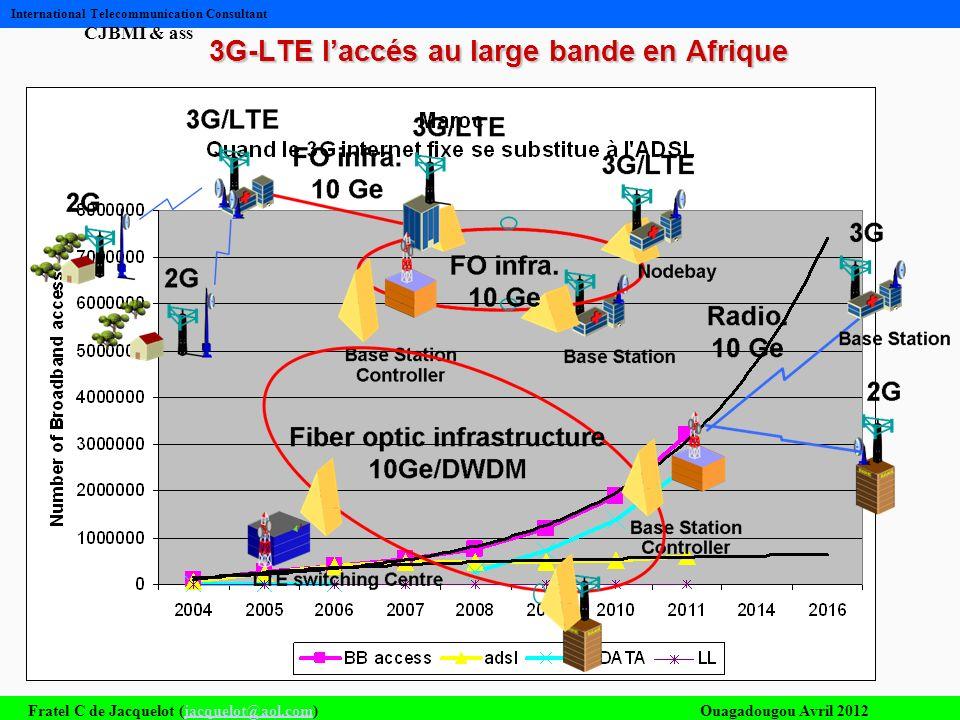 3G-LTE l'accés au large bande en Afrique