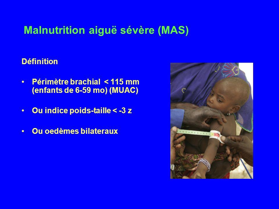 Malnutrition aiguë sévère (MAS)