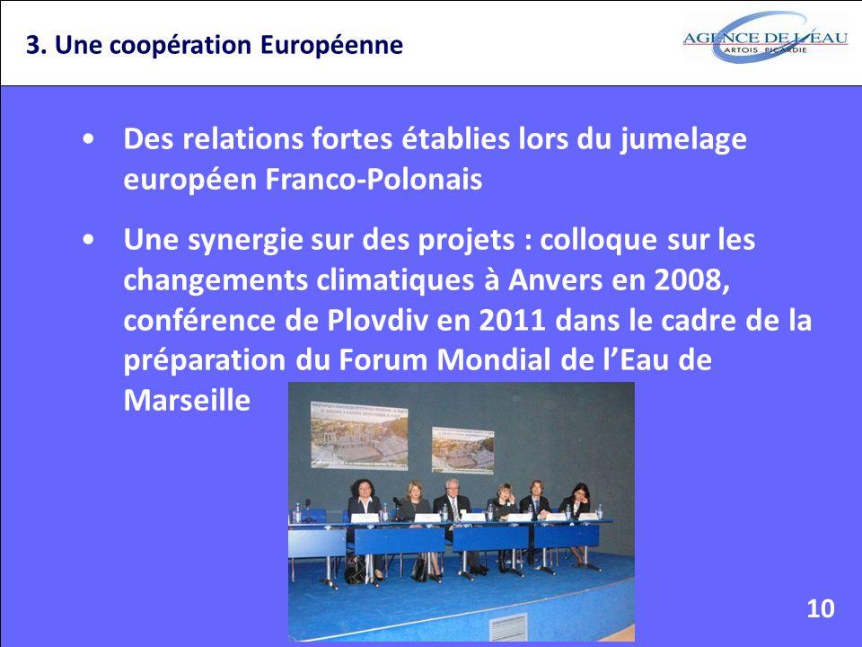3. Une coopération Européenne