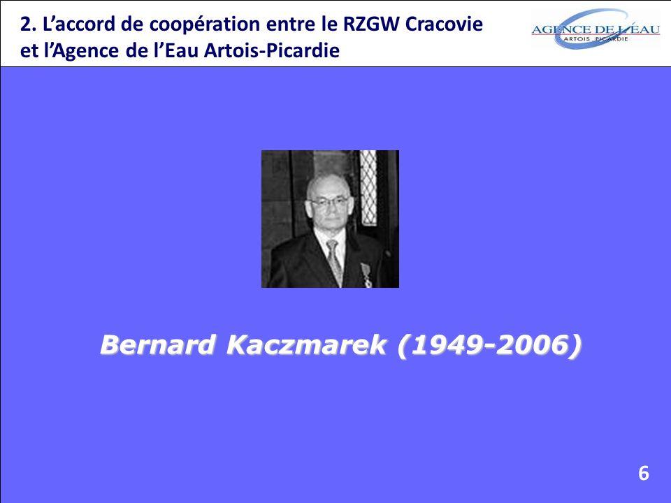 2. L'accord de coopération entre le RZGW Cracovie et l'Agence de l'Eau Artois-Picardie