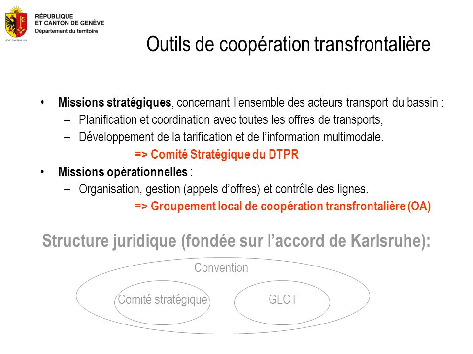 Outils de coopération transfrontalière