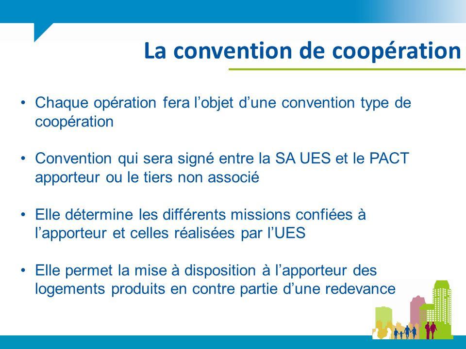 La convention de coopération