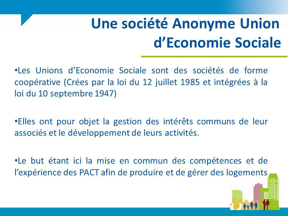 Une société Anonyme Union d'Economie Sociale