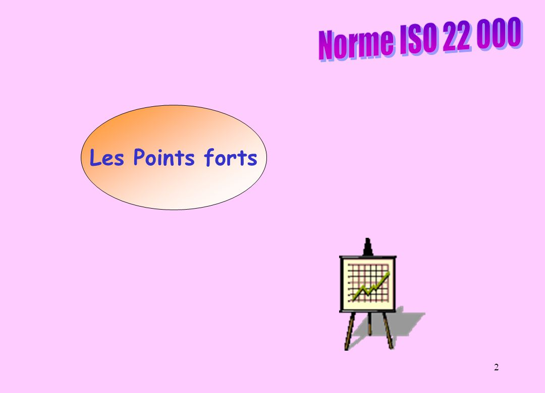 Norme ISO 22 000 Les Points forts