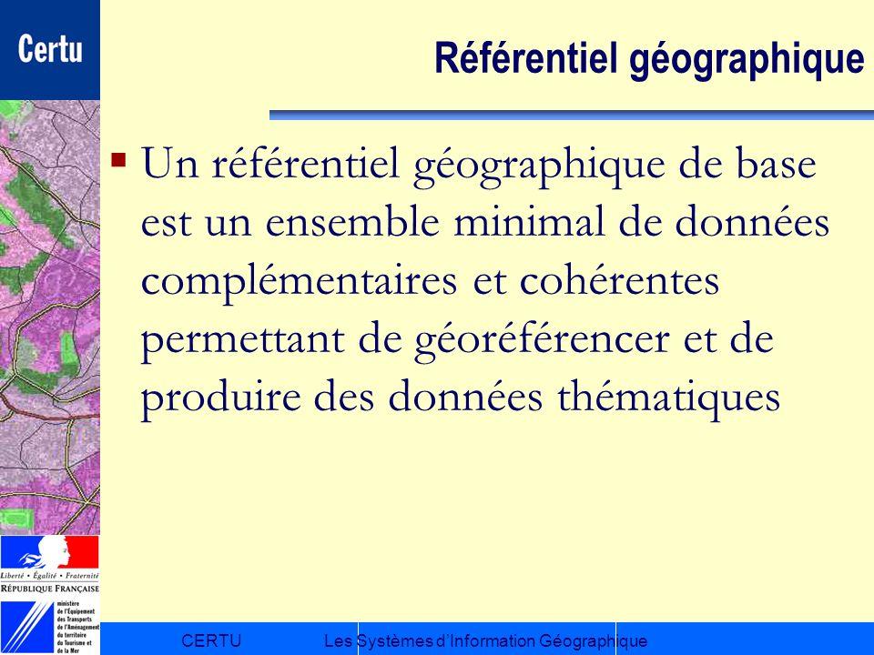 Référentiel géographique