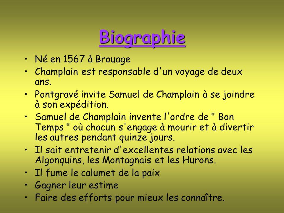 Biographie Né en 1567 à Brouage