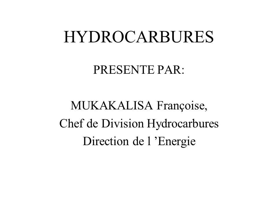 HYDROCARBURES PRESENTE PAR: MUKAKALISA Françoise,