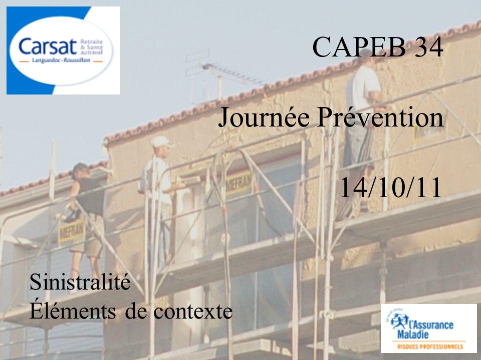 CAPEB 34 Journée Prévention 14/10/11