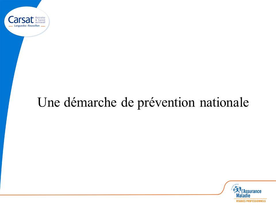 Une démarche de prévention nationale