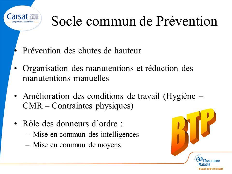 Socle commun de Prévention