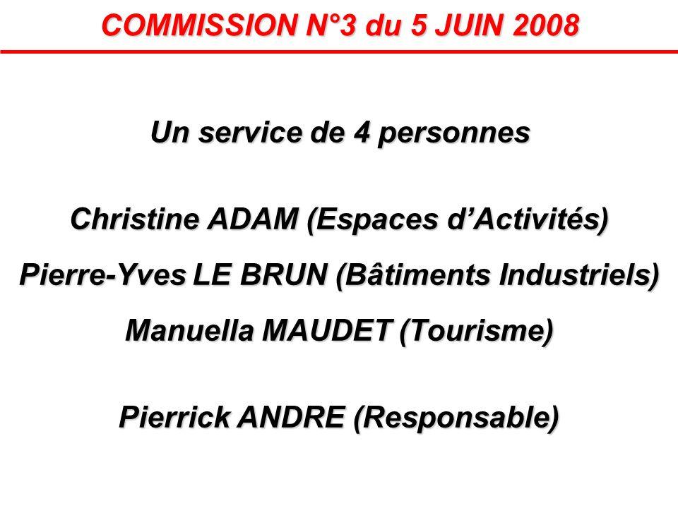 Un service de 4 personnes Christine ADAM (Espaces d'Activités)