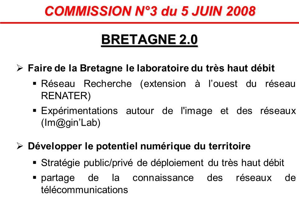 COMMISSION N°3 du 5 JUIN 2008 BRETAGNE 2.0