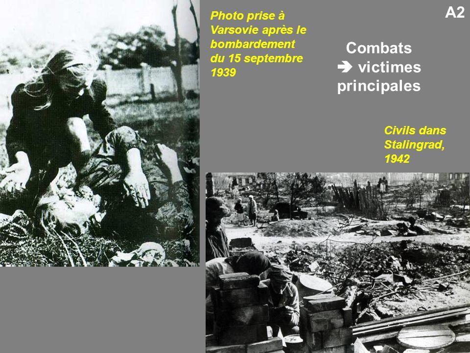 Combats  victimes principales