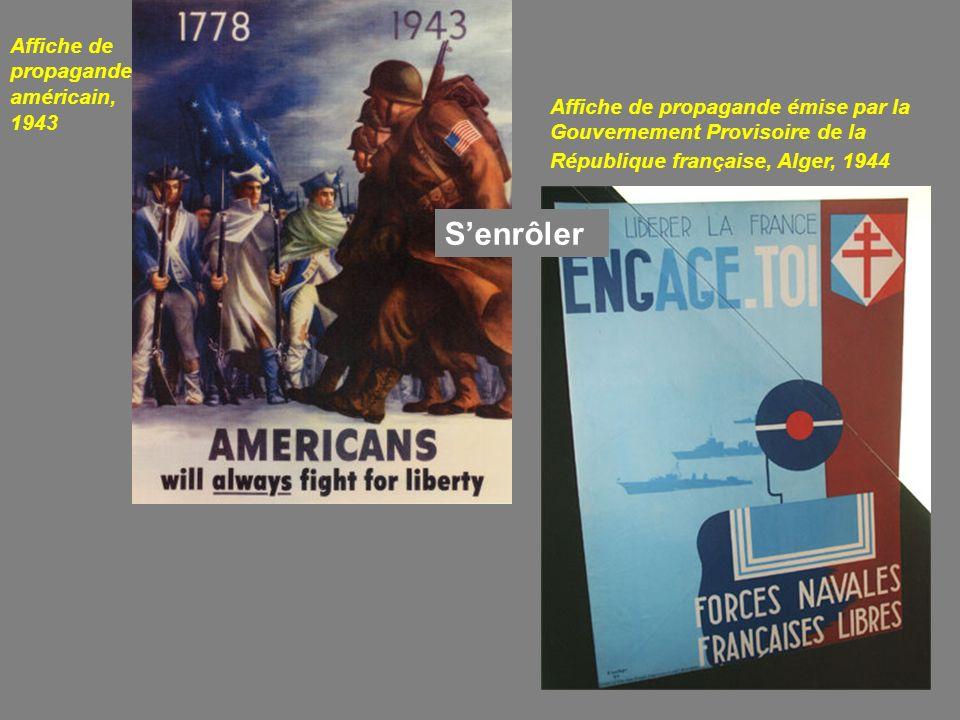 S'enrôler Affiche de propagande américain, 1943