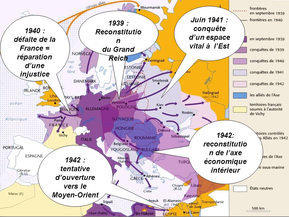 Juin 1941 : conquête d'un espace vital à l'Est 1939 : Reconstitution