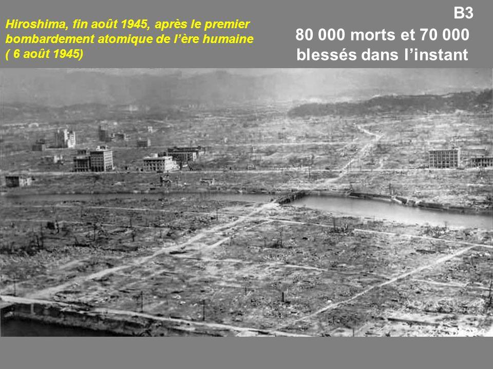 80 000 morts et 70 000 blessés dans l'instant