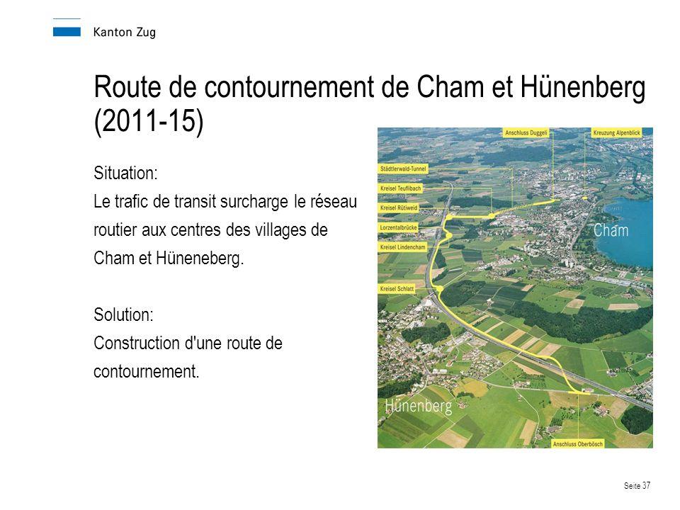 Route de contournement de Cham et Hünenberg (2011-15)