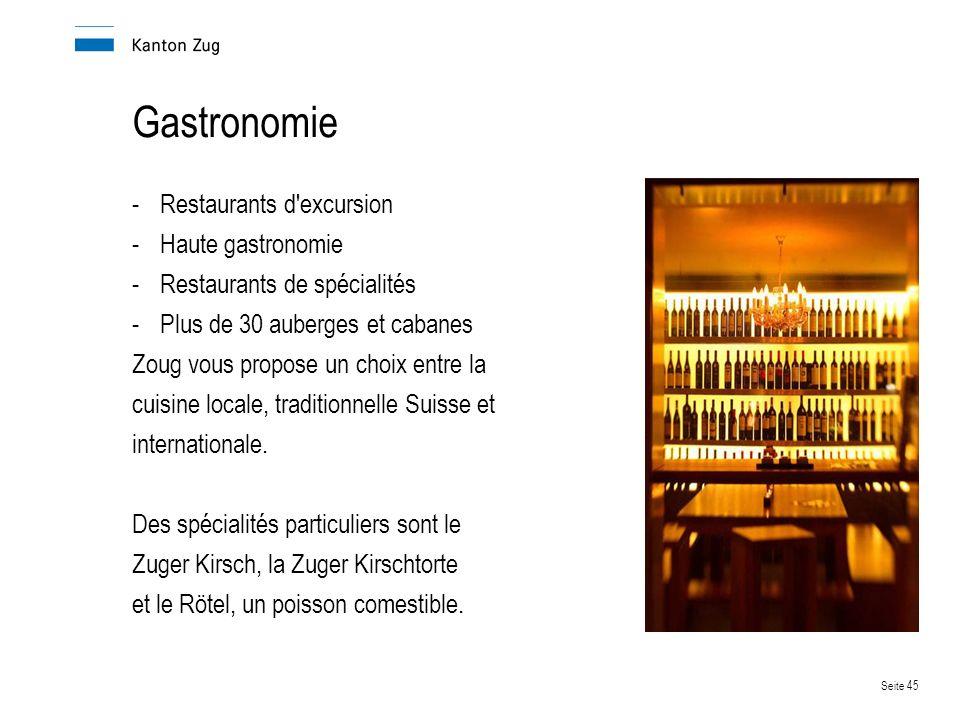 Gastronomie Restaurants d excursion Haute gastronomie